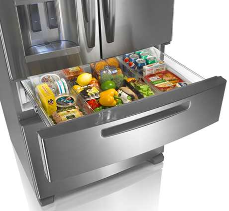 Side By Models Refer To A Vertical Split With The Freezer On One And Refrigerator Other Sides Often Come Feature Through Door