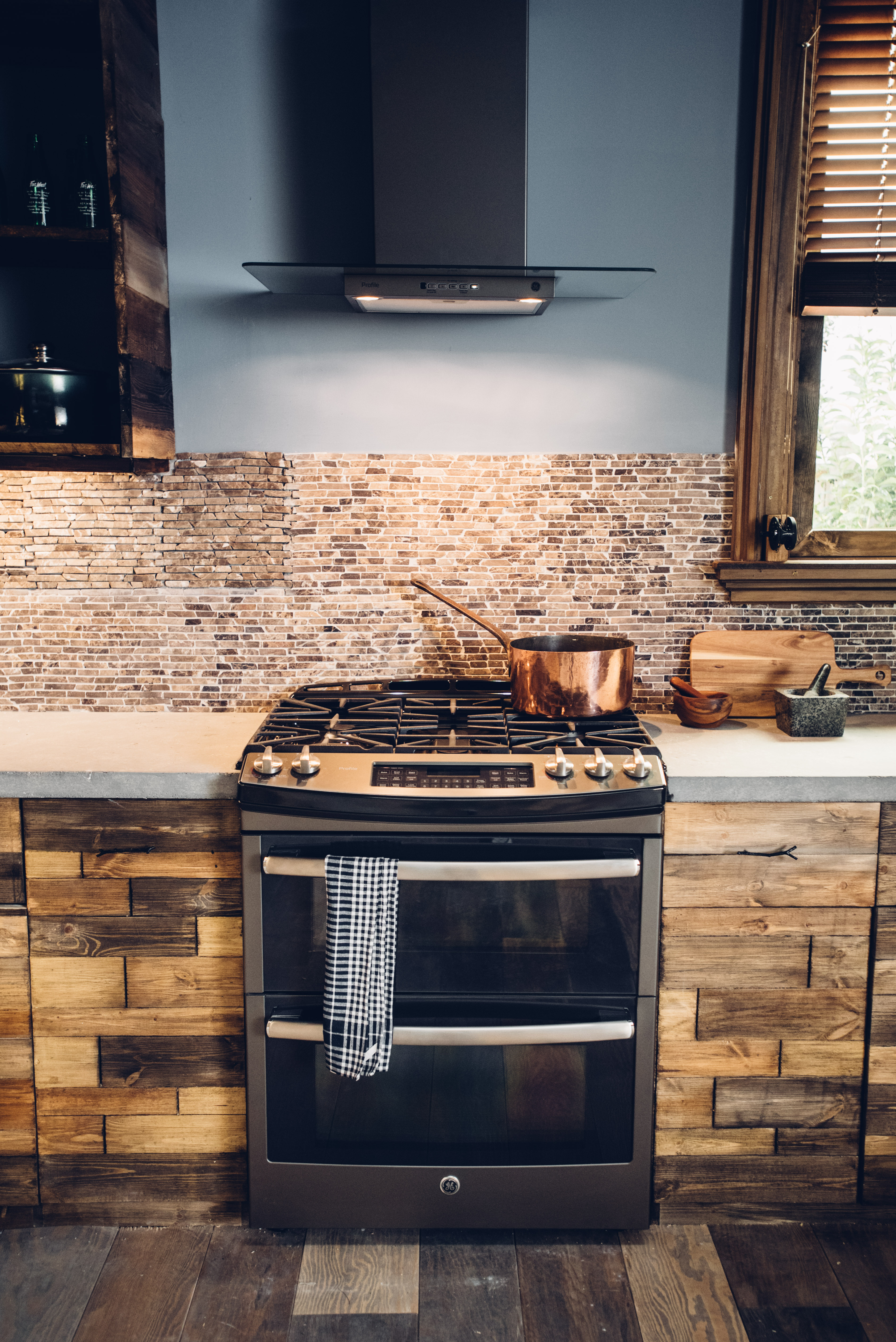 Slate A Warm Take On Stainless Steel Kitchen Design Blog