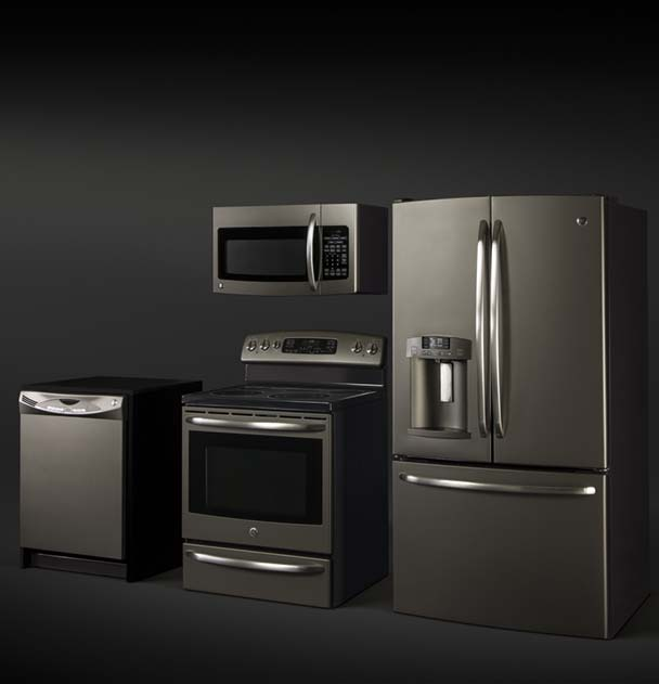 Lg Black Stainless Kitchen Appliance Suite