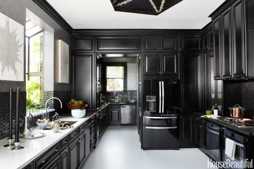 "House Beautiful's ""Kitchen Of The Year"" From The Past Kitchen Cool Design House Kitchens"