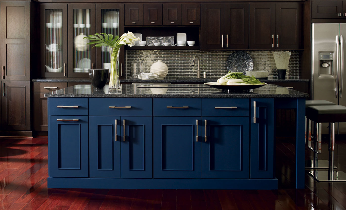 How to two tone kitchen design blog for Can you use kitchen cabinets in bathrooms