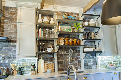 Homey Kitchen W Sweet Painting