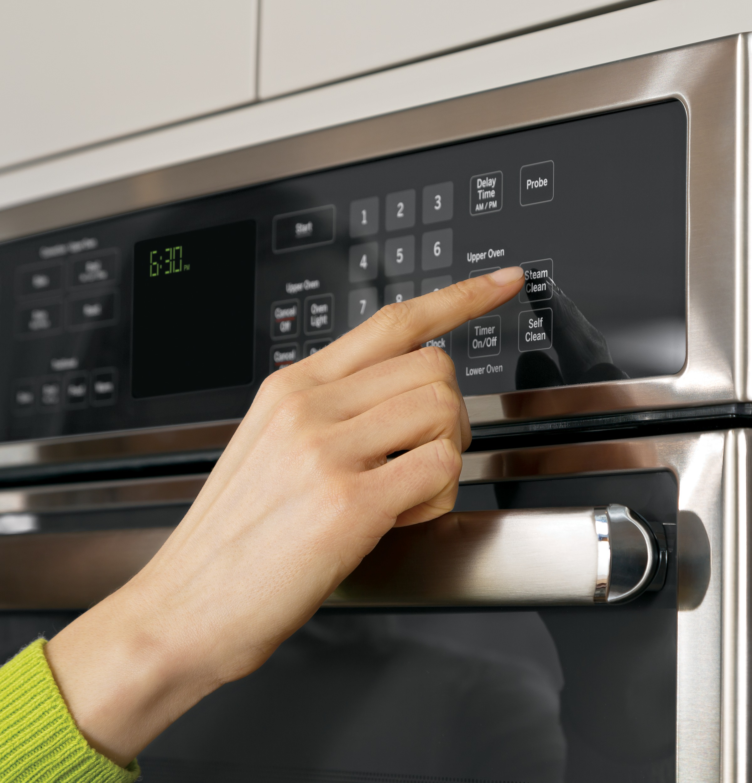 Cleaning Your Oven With Steam Clean From Ge Liances