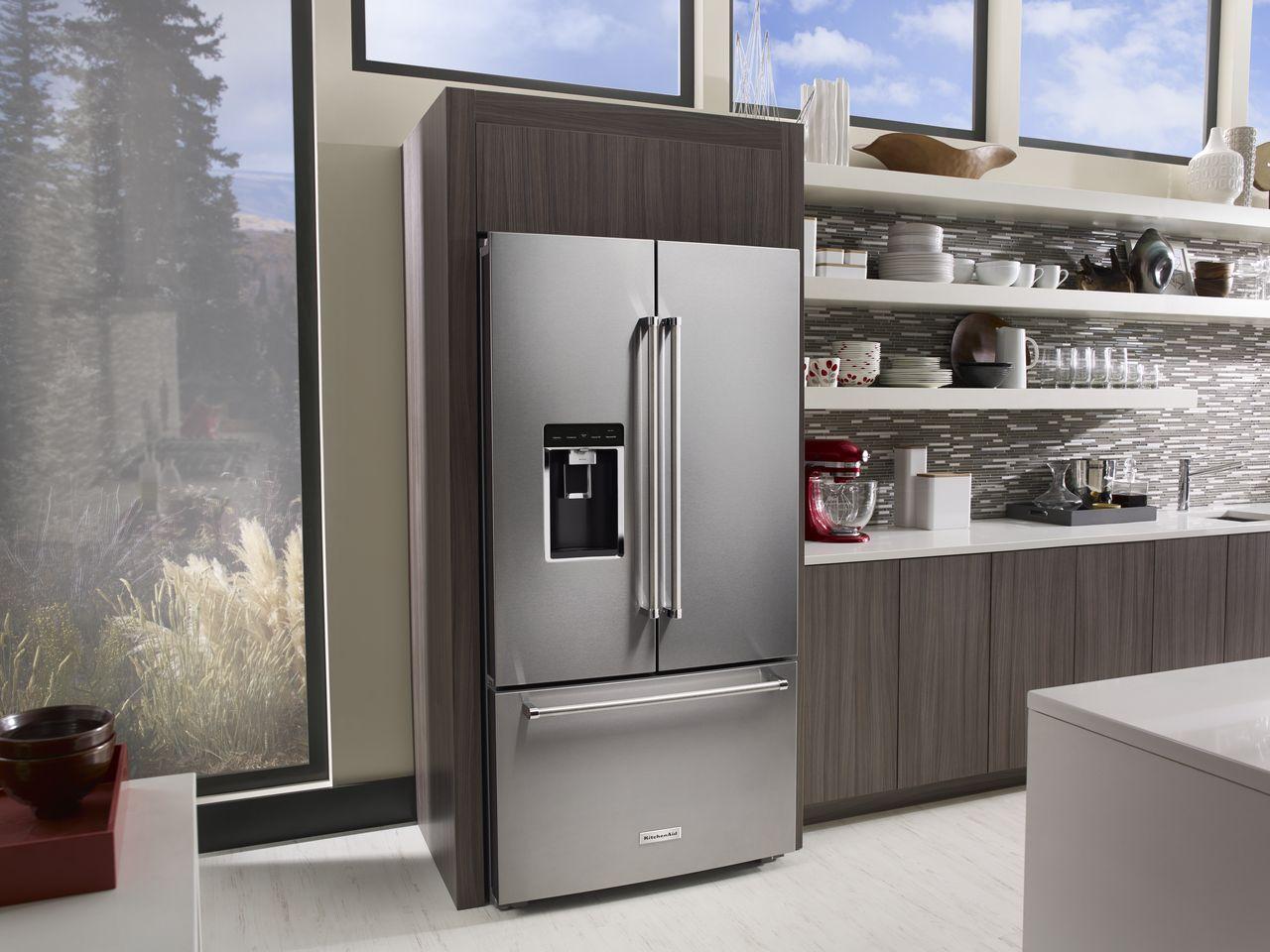 choosing the perfect kitchenaid refrigerator style kitchen design rh brayandscarff com