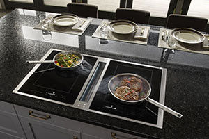 jennair induction downdraft cooktops