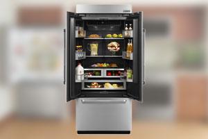 Jenn air appliances for Obsidian interior refrigerator