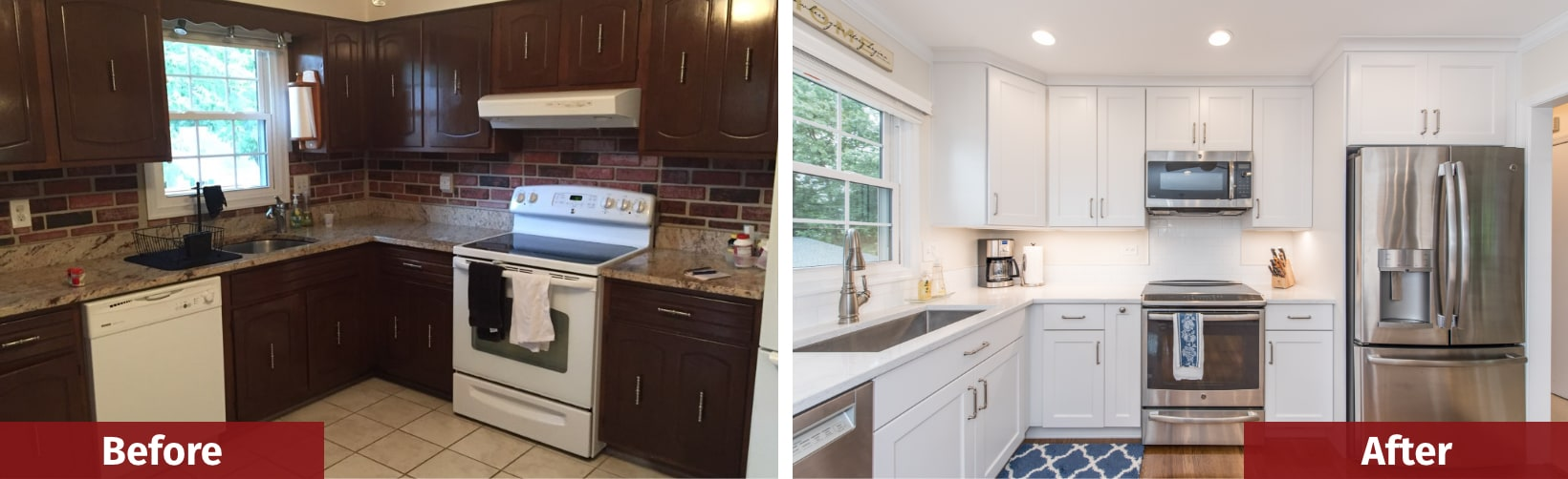 kitchen remodeling before and after