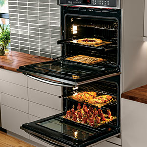 monogram oven true european convection