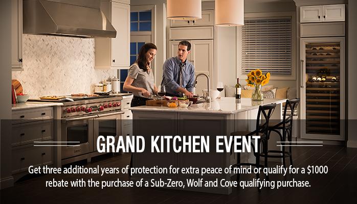 subzero and wolf and cove appliances rebate