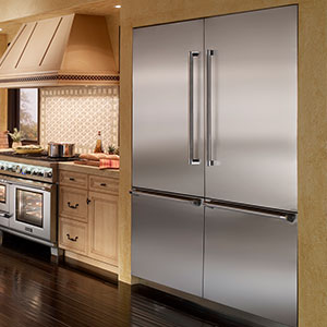 built in refrigerators from thermador