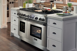 pro grand steam ranges from thermador