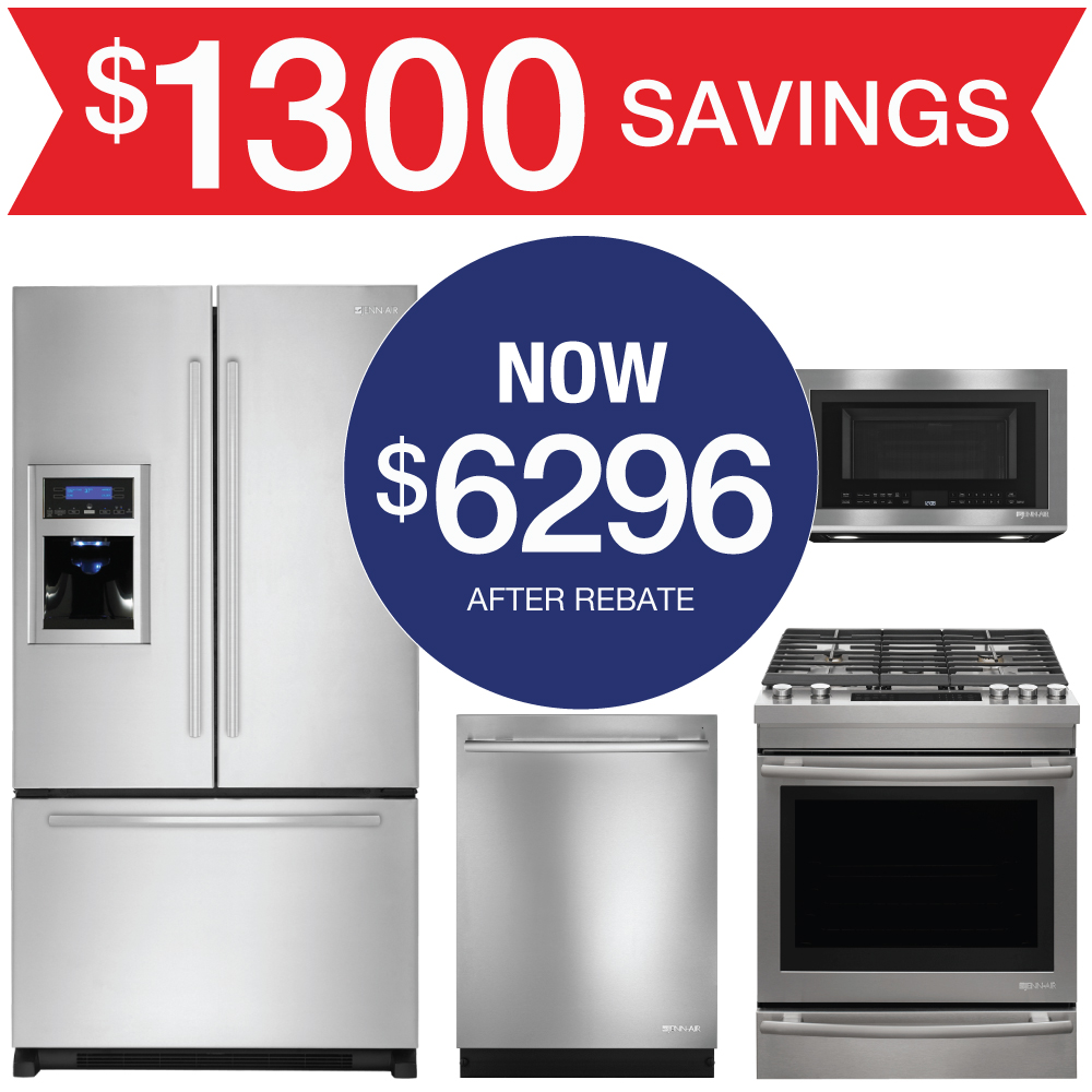 Jenn Air Kitchen Appliance Packages: Discount Package Jenn-Air Kitchen Suite