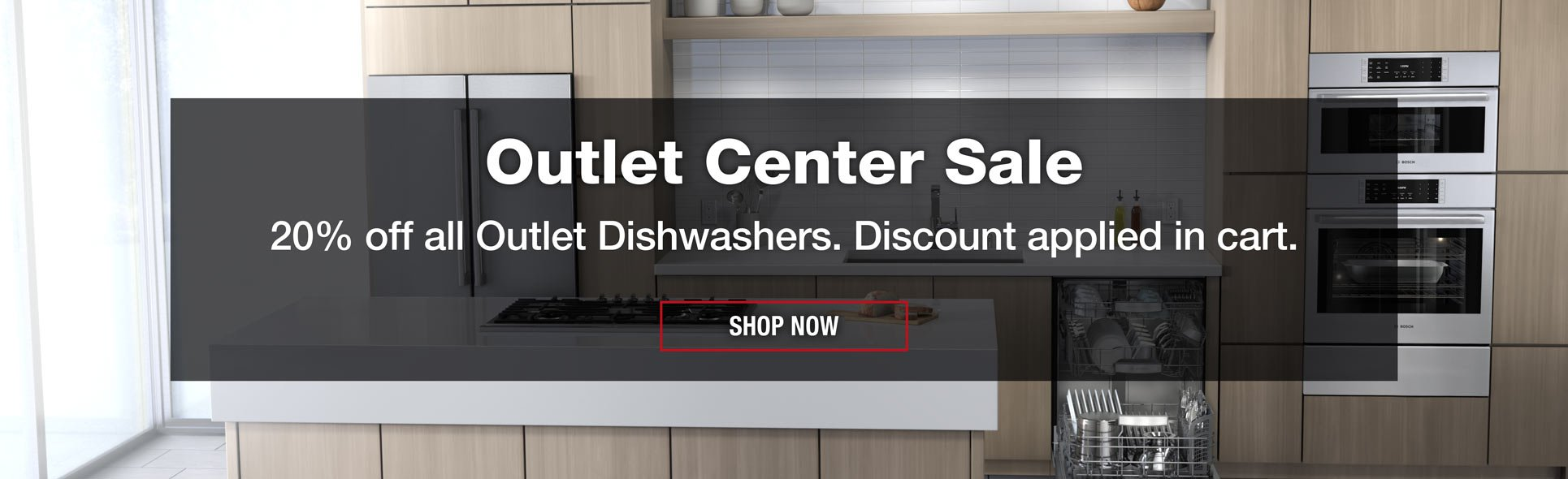 20 Off All Outlet Dishwashers Lied In Cart Now