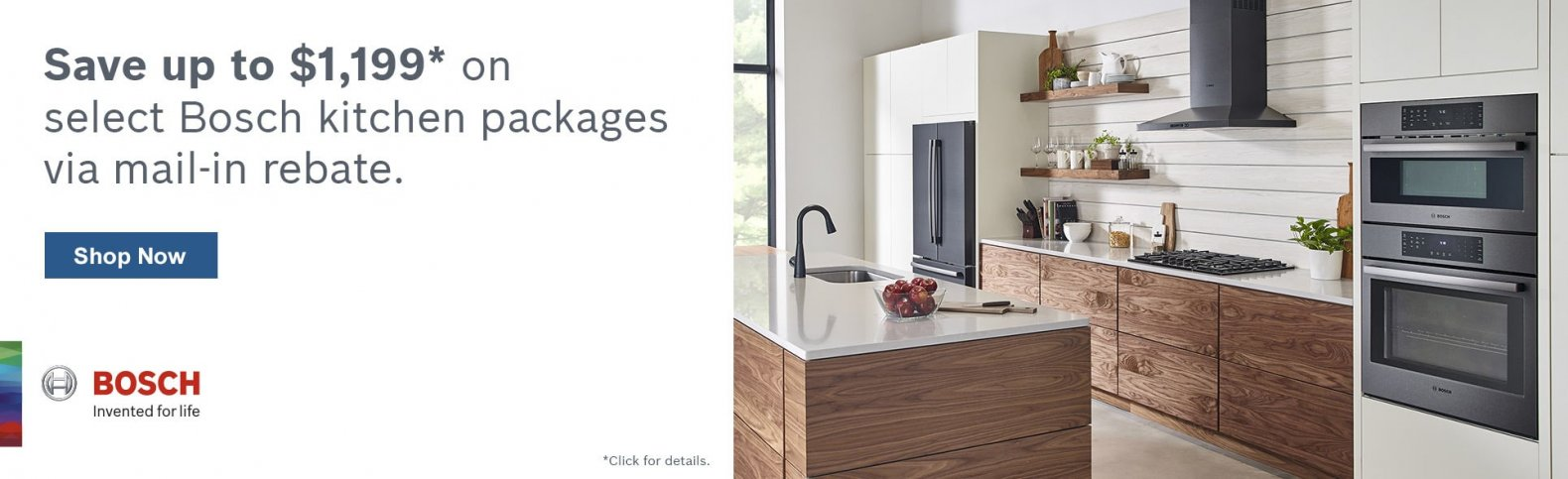 Bosch Save up to $1199 on select Bosch Packages
