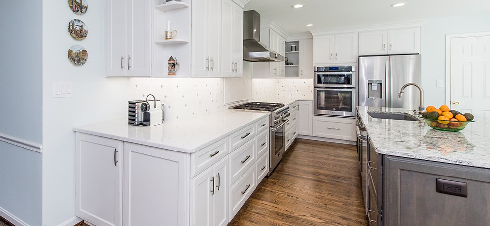 Breathtaking White Kitchen In Mclean Va With Thermador